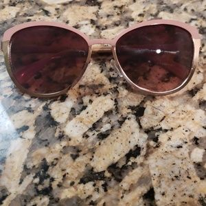 Old Navy two tone gold and rose glasses